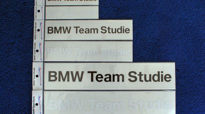BMW Team Studie Official sticker