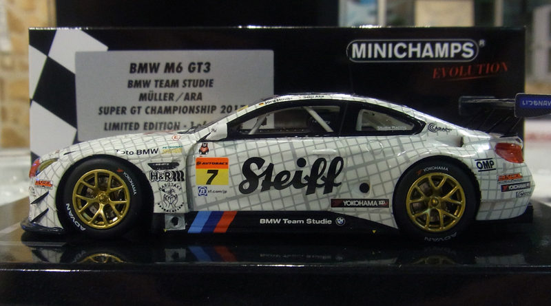 MINICHAMPS 2017 BMW Team Studie 1/43Model
